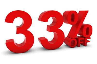 33%Off400x266